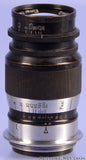 Leica Leitz 90mm Elmar F4 Black Paint SM Lens