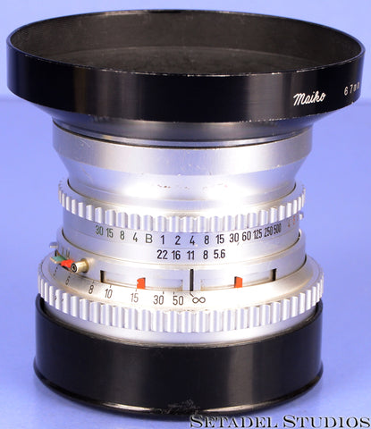 HASSELBLAD ZEISS DISTAGON 60MM F5.6 CHROME C LENS +CAP +SHADE NICE USER!