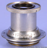 LEICA LEITZ 50MM ELMAR F3.5 SM SCREW MOUNT LTM CHROME COLLAPSIBLE LENS