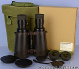 LEICA ELCAN 7X50 MILITARY NATO BINOCULARS +CASE +FILTERS +CAPS +CASE +BOX WOW!