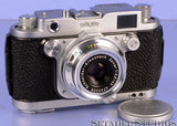 ROBOT ROYAL 36 CHROME MOD.III RANGEFINDER CAMERA +XENAR 45mm F2.8 LENS +CAP NICE