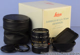 LEICA 35MM SUMMILUX-M F1.4 DOUBLE AA ASPHERICAL 11873 LENS +BOX +12587 SHADE