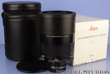 LEICA LEITZ 11354 180MM APO-SUMMICRON-R F2 R ROM BLACK LENS +CASE +BOX MINT!