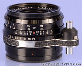 ALPA F/ SCHNEIDER KREUZNACH 35MM CURTAGON F2.8 BLACK LENS WITH CAP