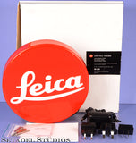 LEICA LEITZ RED DOT LOGO DEALER SIGN LIGHT FIXTURE FACTORY ORIGINAL 96228 10INCH