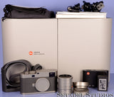 LEICA LEITZ M 60 EDITION M60 10779 CAMERA SET +35MM SUMMILUX-M 1.4 FLE LENS NEW!
