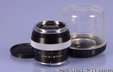 CONTAREX ZEISS 25MM DISTAGON F2.8 LENS W/ BUBBLE CASE +CAP NICE