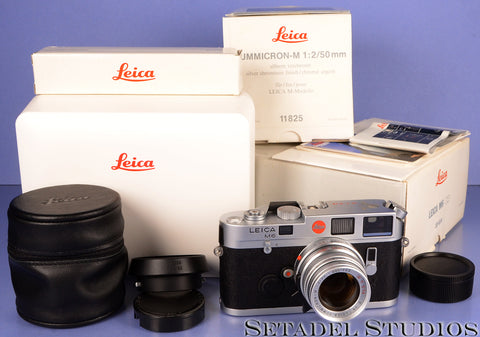 LEICA LEITZ M6 YEAR OF THE ROOSTER SPECIAL SET +50MM SUMMICRON-M +BOXES MINT