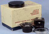 LEICA ZEISS HOLOGON-M 11003 15MM F8 LENS +BOX +CENTRE FILTER +CAPS +FINDER RARE!