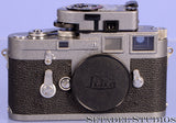 Leica Leitz M3 Transitional Hammertone Repaint Camera w/ MR Light Meter Nice