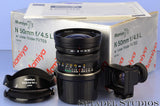 MAMIYA 7 7II N 50MM F4.5 L RANGEFINDER LENS +BOX +SHADE +FINDER +CAPS VERY NICE!