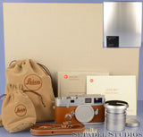 LEICA MP HERMES EDITION 10307 CAMERA SET +35mm SUMMICRON-M F2 ASPH LENS NIB #003