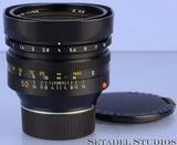LEICA LEITZ 50MM NOCTILUX-M F1 BLACK M CANADA 11822 4th LAST VERSION E60 LENS!