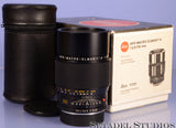 LEICA LEITZ 100MM APO-MACRO-ELMARIT-R F2.8 BLACK ROM LENS W/BOX NEAR MINT 11210