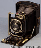 Zeiss Ikon Ideal 250/7 Folding Plate 4x5 Black Camera - Zeiss Camera - Setadel Studios Fine Photographic Equipment - 1