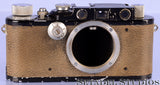 Leica Leitz III (Model F) Black Converted II Rangefinder Camera Body