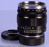 VOIGTLANDER 35MM NOKTON II F1.2 ASPH LENS FOR LEICA M W/ CAPS ASPHERICAL MINT!