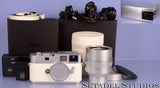 LEICA M9-P M9 P WHITE LIMITED xx/50 CAMERA +CHROME NOCTILUX-M 50MM F0.95 MINT