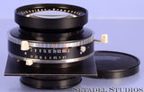 SCHNEIDER XENOTAR 150MM F2.8 4x5 2ND VERSION BLACK LENS +COMPUR SHUTTER RARE!