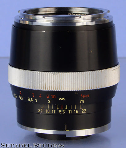 CONTAREX CARL ZEISS DISTAGON 35MM F2 BLACK LENS CLEAN NICE