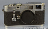 Leica Leitz M3 DS Chrome Rangefinder Camera Body 1954 Early Sn. 700920 Nice