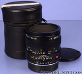 LEICA LEITZ 60MM F2.8 MACRO-ELMARIT-R 3RD CAM LENS +CAPS +CASE BLACK 1:1 CAPABLE