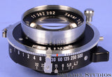SCHNEIDER KREUZNACH XENAR 135MM F4.7 2X3 LENS COPAL PRESS NO. 0 SHUTTER CLEAN