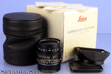 LEICA 35MM SUMMILUX-M F1.4 DOUBLE AA 1ST YEAR ASPHERICAL 11873 LENS +RARE BOX!