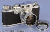LEICA IIIC IIIF UPGRADE +50MM SUMMITAR DUPLICATE POST WAR #2 CAMERA #400002* WOW