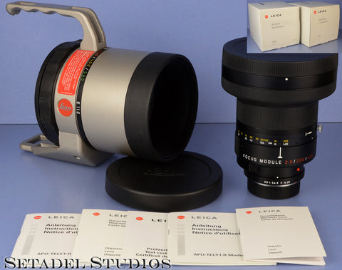LEICA 280/400MM/560MM APO-TELYT-R 11841 11843 280MM F2.8 FOCUS MODULE +BOX MINT