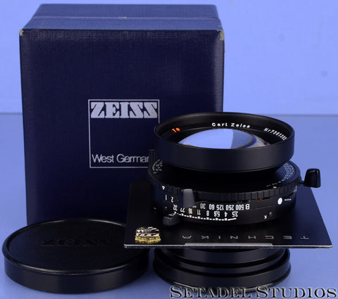 LINHOF ZEISS PLANAR 135MM F3.5 67MM T* BLACK LAST VERSION LENS +BOX +CAP MINT!