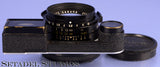 LEICA 35MM SUMMILUX F1.4 BLACK PAINT M3 2nd VER LENS +EYES +CAPS INFINITY LOCK !