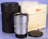 LEICA 11137 90MM SUMMICRON-M F2 PRE APO ASPH CHROME SILVER M LENS +BOX #3688893