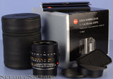 LEICA 35MM SUMMILUX-M FLE F1.4 6BIT 11663 ASPH BLACK M LENS +BOX +SHADE MINT!