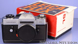 LEICA LEICAFLEX SL OLYMPIA 1972 OLYMPICS EDITION CAMERA #993 +MATCHING BX +PAPERS