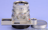 LEICA LEITZ SUMMICRON 50MM F2 DUAL RANGE RIGID M LENS +EYES +CAPS LATE #2036918