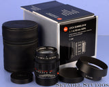 LEICA 50MM SUMMILUX-M F1.4 ASPH 6BIT BLACK CHROME SPECIAL EDITION M LENS. MINT!