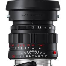 LEICA LEITZ 11811 APO-SUMMICRON-M 50MM F2 ASPH LENS BLACK CHROME NEW IN BOX