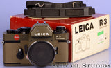 Leica Leitz R3 Electronic Safari Green Reflex Camera Body w/ Box +Strap Mint!