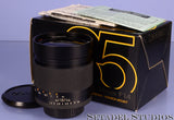 CONTAX C/Y ZEISS 35MM DISTAGON F1.4 T* LENS W/ BOX +CAPS +PAPERS VERY CLEAN!