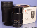 LEICA LEITZ 100MM APO-MACRO-ELMARIT-R F2.8 3CAM BLACK LENS W/BOX NEAR MINT 11210