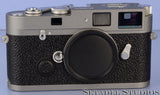 LEICA LEITZ MP ANTHRACITE KIT RANGEFINDER 10316 CAMERA BODY +LEICAVIT +BOX MINT