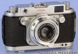 ROBOT ROYAL 36 CHROME MOD.III RANGEFINDER CAMERA +XENAR 45MM F2.8 LENS +SHADE