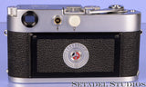LEICA LEITZ M2 10800 KOOHE BUTTON CHROME CAMERA BODY +CAP RARE! CLEAN!