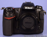 NIKON D300S 12.3MP CMOS DSLR DIGITAL CAMERA +BOX +BATTERY +CHARGER ONLY 480 SHOTS
