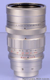 Leica Leitz 90mm Summicron F2 Version 1 Midland Prototype Chrome SM LTM Lens w/ Box