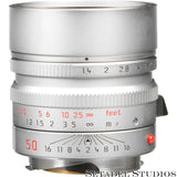 LEICA SUMMILUX-M 50MM F1.4 6BIT SILVER CHROME ASPH 11892 LENS NEW IN BOX SEALED!