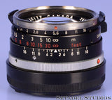 LEICA LEITZ 11869 SUMMILUX 35MM F1.4 STEEL RIM BLACK +CAPS +BOX RARE LATE 206XXX