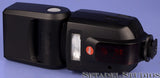 LEICA LEITZ SF-58 TTL FLASH 14488 BLACK +BOX +PAPERS CASE R M S SYSTEM CLEAN