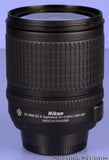 NIKON 18-135MM AF-S DX SWM ED IF NIKKOR F3.5-F5.6G ED ZOOM CAMERA LENS +CAP